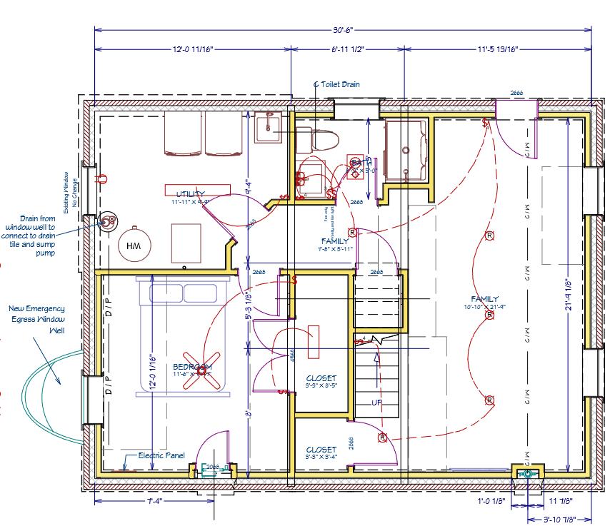 basement construction plans